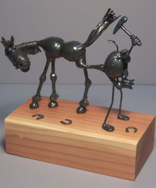Horse shoer