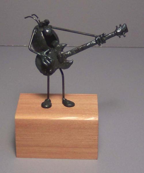 Guitar, bass