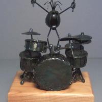 Drum set, large