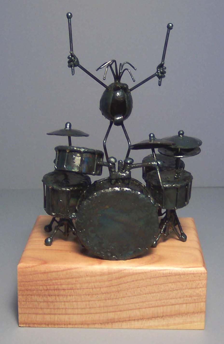Drum set, large