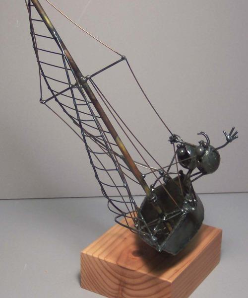 Sailboat, 2 flea