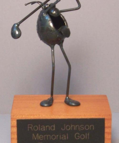 Sculpture with Plaque